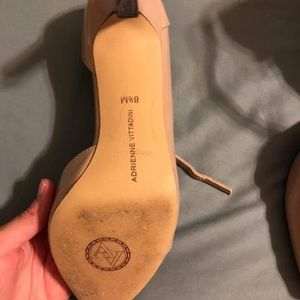 Women's nude colored shoes